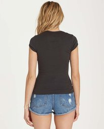 2 Baby Love Tee Black J439MBAB Billabong