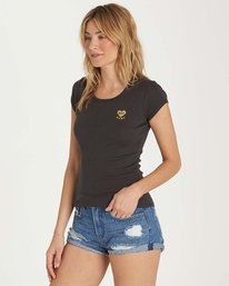 1 Baby Love Tee Black J439MBAB Billabong