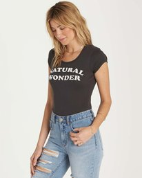 1 Natural Wonder Tee Black J439MNAT Billabong
