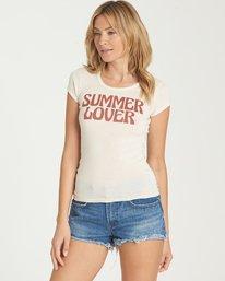 1 Summer Lover Tee White J439NBSU Billabong