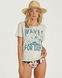 0 Waves For Days Tee  J467NBWA Billabong
