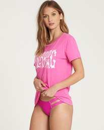 1 I'M A Rebel Tee Pink J467QBIM Billabong