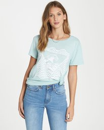 0 Lost Control Tee  J467QBLO Billabong