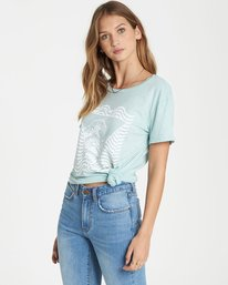 1 Lost Control Tee  J467QBLO Billabong