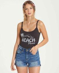 4 Beach Please Tank Black J496QBBE Billabong