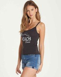 1 Beach Please Tank Black J496QBBE Billabong