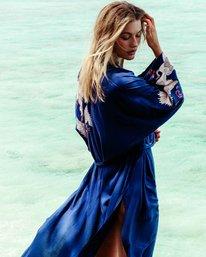 0 Cranes Song Kimono Blue J517PBCR Billabong