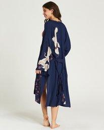3 Cranes Song Kimono Blue J517PBCR Billabong