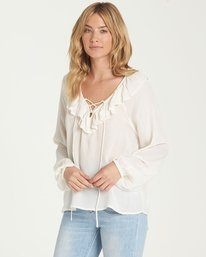 1 Jeweled Night Top Beige J530NBJE Billabong