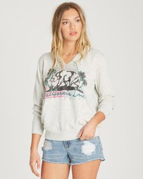 0 Days Off 2 Pullover Hoodie Grey J601QBDA Billabong