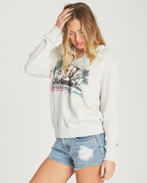 1 Days Off 2 Pullover Hoodie Grey J601QBDA Billabong