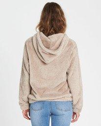 1 Cozy For Keeps Fleece Hoodie Brown J604QBCO Billabong