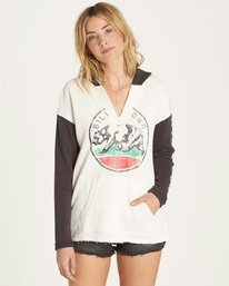 0 Days Off Pullover Hoodie Grey J607MDAY Billabong