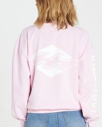 2 WHITE WASH Pink J608NBWH Billabong