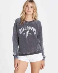 0 Heritage Bolt Fleece Black J650LHER Billabong