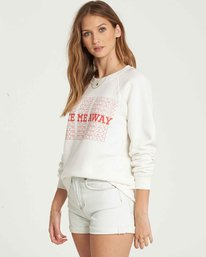 1 Take Me Away Crew Sweatshirt Beige J650QBTA Billabong