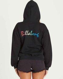 3 PULLOVER HOODIE Black J651PBPU Billabong