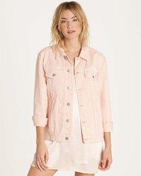 1 Always Truckin' Denim Jacket Pink J704MALW Billabong