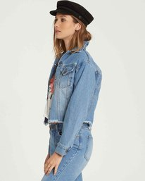 1 Good Day Denim Jacket Blue J707QBGO Billabong