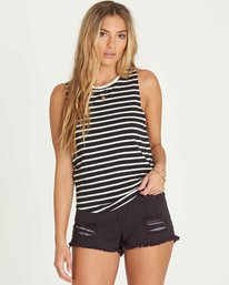 0 Cabana Daze Tank Black J904PBCA Billabong