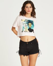 1 Women's Dos Cabezas Crop Tee  J920PBBA Billabong