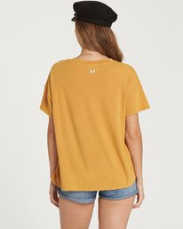 3 It Matters Boyfriend Tee Yellow J925QBIT Billabong