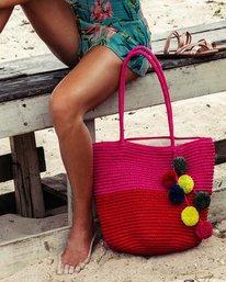 0 Heart N' Soul Straw Tote Bag Pink JABGPBHE Billabong