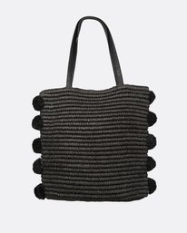 1 Palms Up Straw Bag Black JABGQBPA Billabong