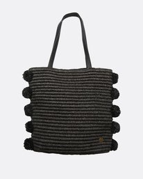 0 Palms Up Straw Bag Black JABGQBPA Billabong