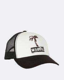 2 Warholsurf Holly Trucker Hat Black JAHTLHOL Billabong