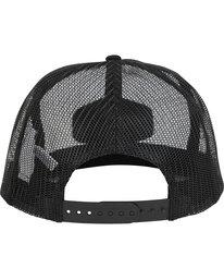 3 Meshin' Around Hat Black JAHWNBME Billabong