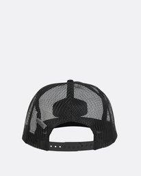 7 Meshin' Around Hat Black JAHWNBME Billabong