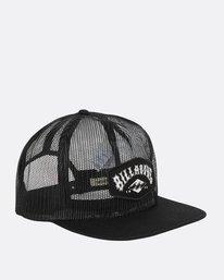 6 Meshin' Around Hat Black JAHWNBME Billabong