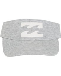 1 Billabong Beach Visor Grey JAHWPBBI Billabong