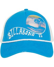 1 Radical Dude Trucker Hat Blue JAHWPBRA Billabong