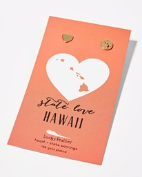 HAWAII LOVE EARRINGS  JAJWXBHE