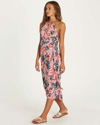 3 Aloha Babe Dress Red JD07NBAL Billabong