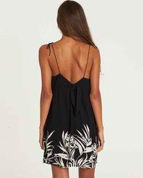 2 Night Twist Swing Mini Dress Black JD11PBNI Billabong