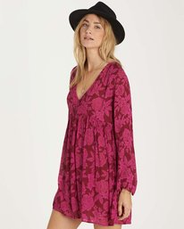 1 Take Today Dress Purple JD15MTAK Billabong