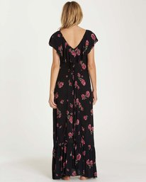 3 Southern Border Dress Black JD17MSOU Billabong