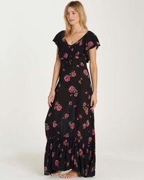 2 Southern Border Dress Black JD17MSOU Billabong