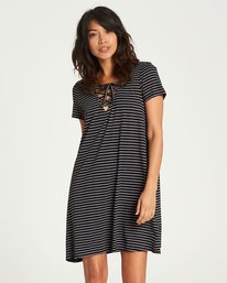 0 Long Ago Dress Black JD20NBLO Billabong