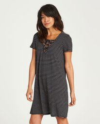1 Long Ago Dress Black JD20NBLO Billabong