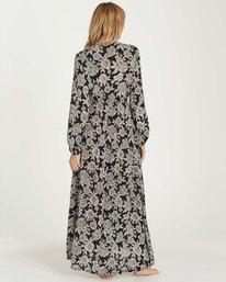 2 Allegra Kimono Dress Black JD22MALL Billabong