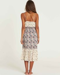 2 Meadow Dew Midi Dress Beige JD23PBME Billabong