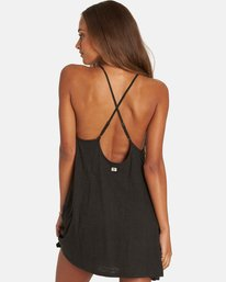 2 Ray Me Swing Mini Dress Black JD24PBRA Billabong