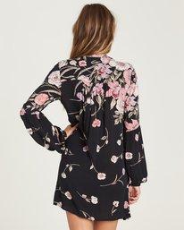 2 Pretty Please Mini Dress Black JD27QBPR Billabong
