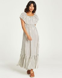 5 Island Vibes Dress White JD28NBIS Billabong