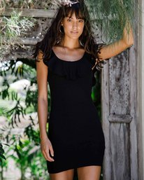 0 No Frills Bodycon Mini Dress Black JD34PBNO Billabong