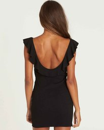 3 No Frills Bodycon Mini Dress Black JD34PBNO Billabong